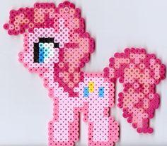 Medium Pinky Pie by *Ravenfox-Beadsprites on deviantART