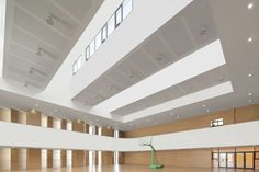 Gallery of School with an Open Space / Beijing Institute of Architectural Design 6th Division - 17