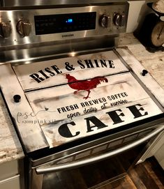Rooster noodle board / rooster stovetop cover / rooster sign / farmhouse noodle board / farmhouse decor / coffee noodle board – The Best Ideas Farmhouse Bedroom Decor, Farmhouse Kitchen Decor, Farmhouse Style, Rooster Kitchen Decor, Farmhouse Sinks, Farmhouse Front, Decorating Kitchen, Antique Farmhouse, Stove Top Cover