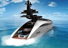 Albatross yacht, Tarun Sharma, Futuristic Yacht, Future Yacht, Luxury Yacht, Luxury vehicle, luxury life, luxury lifestyle, futuristic concept, futuristic design, future life, luxury life style, future watercraft, futuristic watercraft, fantastic, sci-fi, boat, ship, future ship, concept yacht, solar energy, solar power