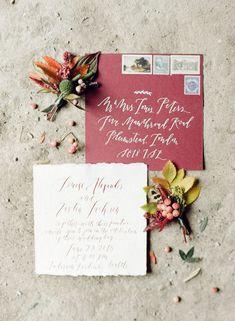 Autumn Heather Inspired Wedding Style
