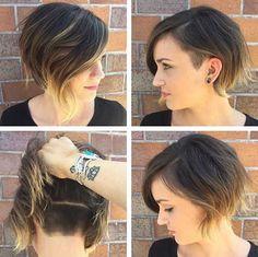 25 Good Asymmetrical Bob Haircuts | Bob Hairstyles 2015 - Short Hairstyles for…