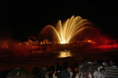 Musical Fountain on Sentosa Island, Singapore