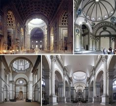 le architetture rinascimentali e la luce