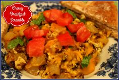 Sweet Tea and Cornbread: Cheesy Breakfast Scramble!