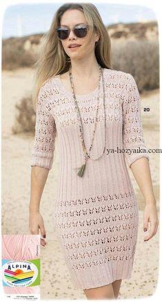Платье в резинку