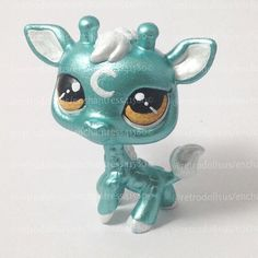 One of a Kind Custom LPS toy. She has been painted with artist acrylics and sealed with testors dullcote spray for the body and triple thick gloss on the eyes. This item is for display purposes only- it is not recommended for playing. Do not put in water or near high temperatures.