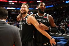 Blake Griffin and Andre Drummond form a frontcourt duo that is most effective in the paint. Can this style of basketball still thrive in the modern NBA? Andre Drummond, Power Forward, Reggie Jackson, Blake Griffin, Washington Wizards, Detroit Pistons, Free Agent, A Guy Who, Rebounding