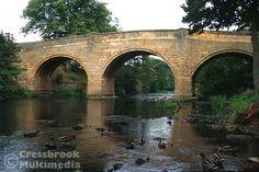 Baslow Old Bridge over the River Derwent