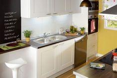 Sueña tu cocina en blanco. Una opción versátil y perfecta para espacios reducidos - Leroy Merlin #leroymerlin #cocinas