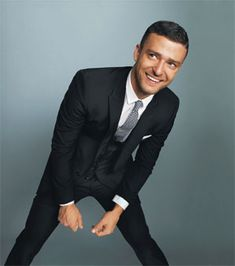 Justin Timberlake in Glamour. Perfect do and fitted suit. Slick. #menswear #monday
