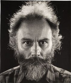 """""""Lucas"""", 2011, jacquard tapestry, 87″ x 74″ © Chuck Close, courtesy Pace Gallery,Photo by Donald Farnsworth, courtesy Pace Galleryhttp://design-milk.com/the-awe-inspiring-work-of-chuck-close/"""