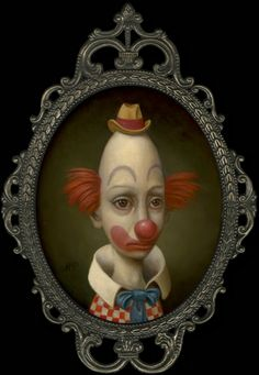 Thin Clown (by Marion Peck)