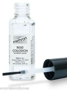Mehron Scarring Liquid Rigid Collodion FX Makeup Halloween Costume Party