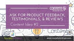 Creative Content Idea #2 #socialmedia #contentmarketing http://www.sociallyinclined.com/blog/creative-content-idea-2#utm_sguid=106968,00a711fd-e8e4-6eea-e49e-8e6799279fef