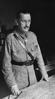 Marshal Carl Gustav Mannerheim at his headquarters in Helsinki, 1941 - pin by Paolo Marzioli History Of Finland, Field Marshal, Celebrity Drawings, The Third Reich, World History, Military History, Helsinki, Historian, World War Two