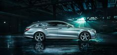The new CLS Shooting Brake.