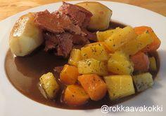 @rokkaavakokki: Suvun paras resepti, Mamman pihvipaisti ja lanttu-...