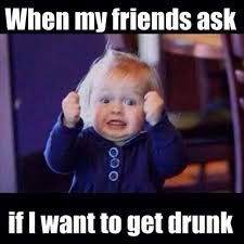 When My Friends Ask If I Want To Get Drunk funny memes meme lol humor funny memes I Love Books, Good Books, Books To Read, Funny Quotes, Funny Memes, Hilarious, Drunk Quotes, Nfl Memes, It's Funny