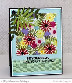 Desert Bouquet, Friends like Us, Polaroid Cover-Up Die-namics, Wild Greenery Die-namics - Melody Rupple #mftstamps