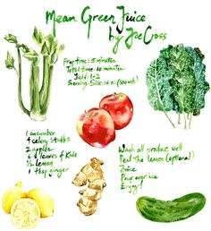 Juice guru Joe Cross's recipe for Green Juice.