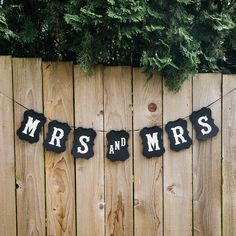 Make a statement with this lovely Mrs and Mrs custom LGBTQ+ wedding banner! .: Material - Black or Brown Craft Paper.: Lettering - White.: Card Size - 4 in x 6 in.: String Length - 120 inAdjust letters as needed Pool Wedding, Lesbian Wedding, Wedding Crafts, Dream Wedding, Wedding Ideas, Wedding Things, Summer Wedding, Diy Wedding, Wedding Decor