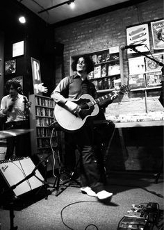 Jack's B show at Reckless Records, Chicago, Aug. 5, 2012. So sad I missed this cause I was waiting for him at Lollapalooza.