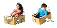 DIY cardboard box toys | Cool Mom Picks