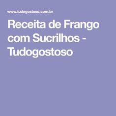 Receita de Frango com Sucrilhos - Tudogostoso