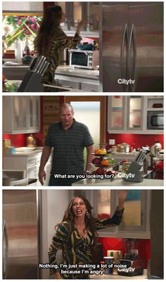 "When she was all of us when we're angry. | 23 Times Gloria From ""Modern Family"" Made Us Burst Out Laughing"