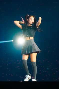Photo album containing 18 pictures of Jennie Blackpink Outfits, Stage Outfits, Kpop Girl Groups, Korean Girl Groups, Kpop Girls, Mode Ulzzang, Ulzzang Girl, Kim Jennie, Blackpink Fashion