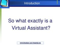 Free Training on How to Become a Successful Virtual Assistant