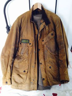 Barbour A10 Barbour Jacket Mens, Gents Clothes, Barbour International Jacket, Work Fashion, Mens Fashion, Man Boots, Waxed Cotton Jacket, Wax Jackets, Field Jacket