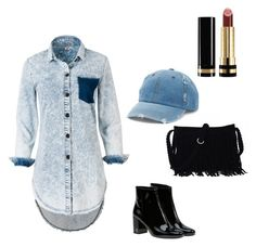 """""""Outfit"""" by thecuteoutffit on Polyvore featuring Yves Saint Laurent, Mudd and Gucci"""