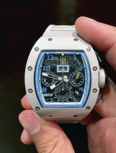 """Richard Mille [NEW] RM 011 """"Manchester City"""" Blue Limited Edition 20 Piece at HK$1,168,000."""