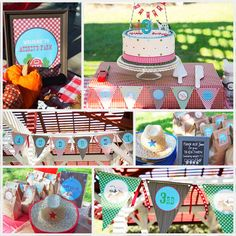 Vintage Down on the Farm Birthday Party Package by printablecandee, $30.00