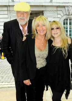 Mick Fleetwood, Christine McVie & Stevie at the UK premier of In Your Dreams