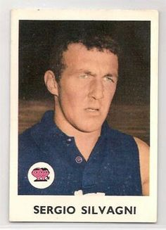 Sergio Silvagni Carlton Afl, Carlton Football Club, Football Cards, Baseball Cards, Challenge Cup, Australian Football, Go Blue, Great Team, The Past