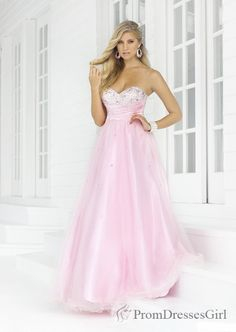 Pink Prom Dress cute