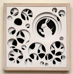 Paper Cut Work Inspired by Alice in Wonderland - my next project!