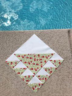 Fabric Scraps: Lady of the Lake Block