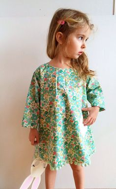 83e51fc6af9 Liberty of London girls printed Floral Dress by LittleOclothing on Etsy Liberty  London Girl