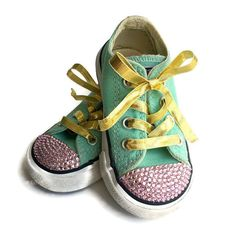 596cb5574a95 14 Best Blinged out monogram Converse All Stars images