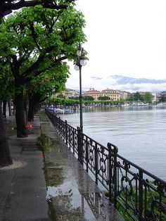 Lugano, Switzerland, one of my favorite work destinations when I lived in France.