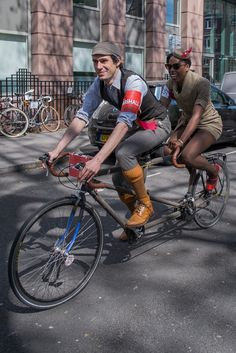 V E L O C I T Y G I R L : The London Tweed Run 2015...