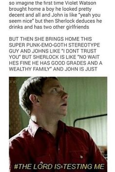 I dunno exactly what continuum this is from, and whether it's parentlock or a Mary and John thing, but it's cute/funny either way.