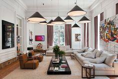 14 salas de Casa cor 2011 com paredes especiais - Casa