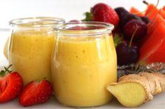 Smoothie med mango, citron och ingefära