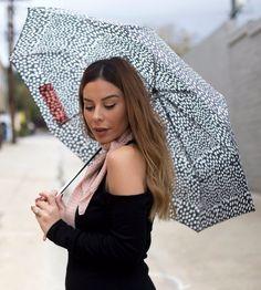 """Keep The Wild In You"" Zebra-Stripe Umbrella at Stiletto Beats Store | Lookave - #stripe #zebrastripe #umbrella #zebrastripeumbrella #blackandwhite #ootd #onlineshopping #lookave #onlineshopping #streetstyle #style #fashion #outfit @stilettobeats @nyandcompany"