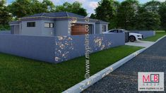 1_14 Double Garage, Bedroom House Plans, Open Plan Living, Living Area, Houses, How To Plan, Outdoor Decor, Home Decor, Double Carport
